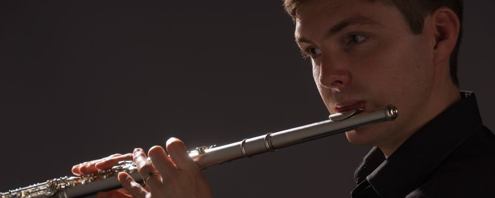 Flutist and flute teacher John Sutton